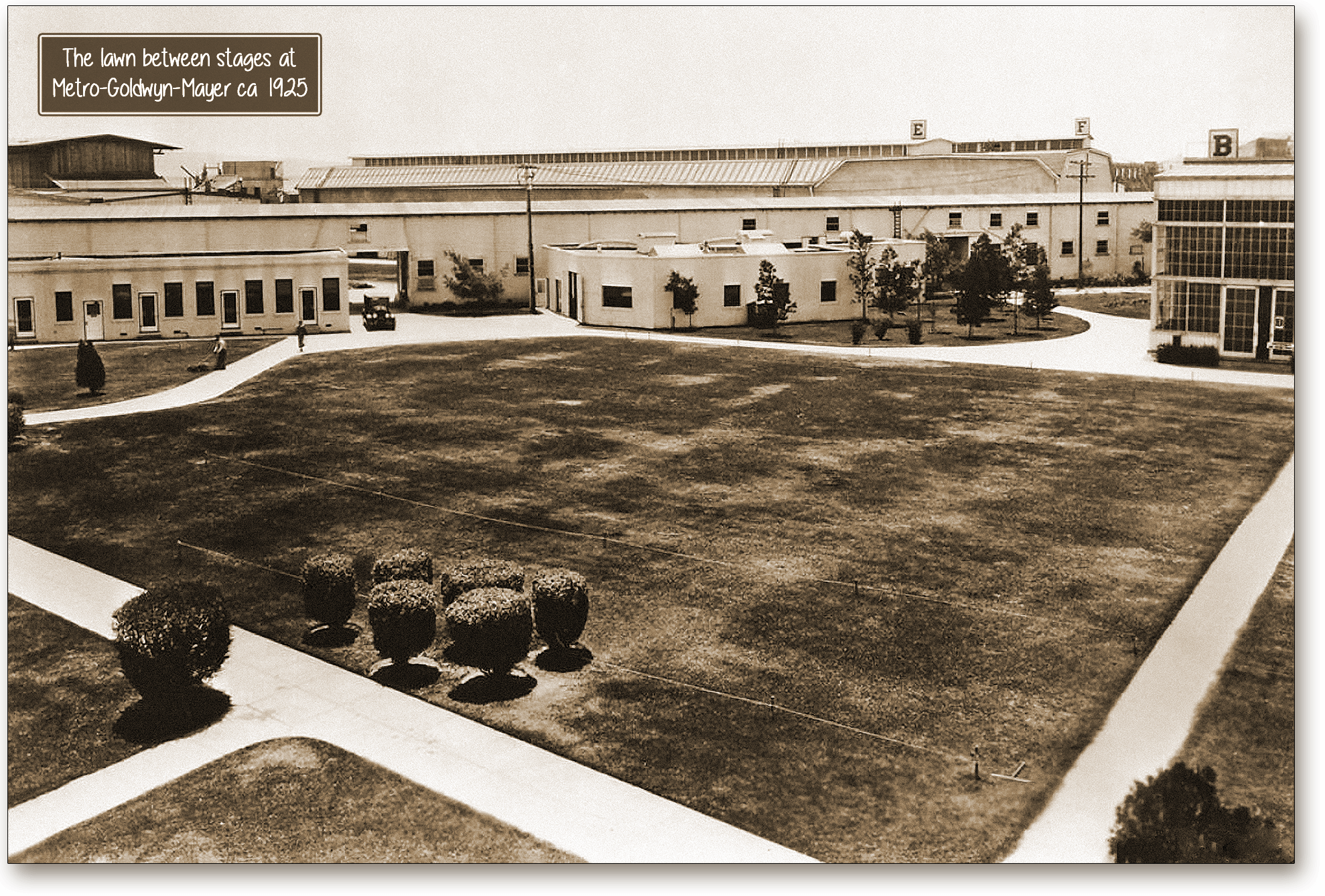 MGM lawn and stages 1925-rb