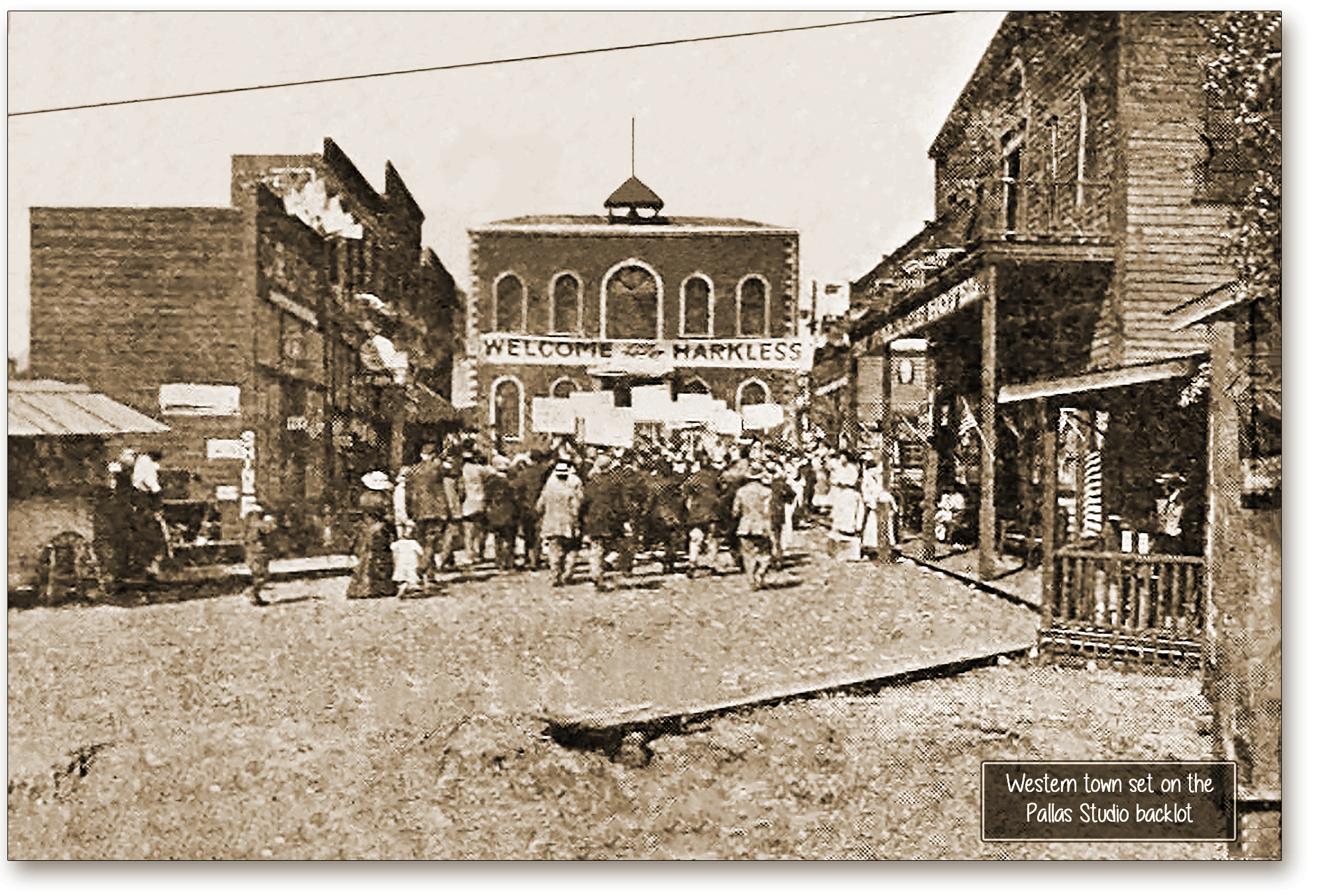 Backlot set at Pallas 1915b