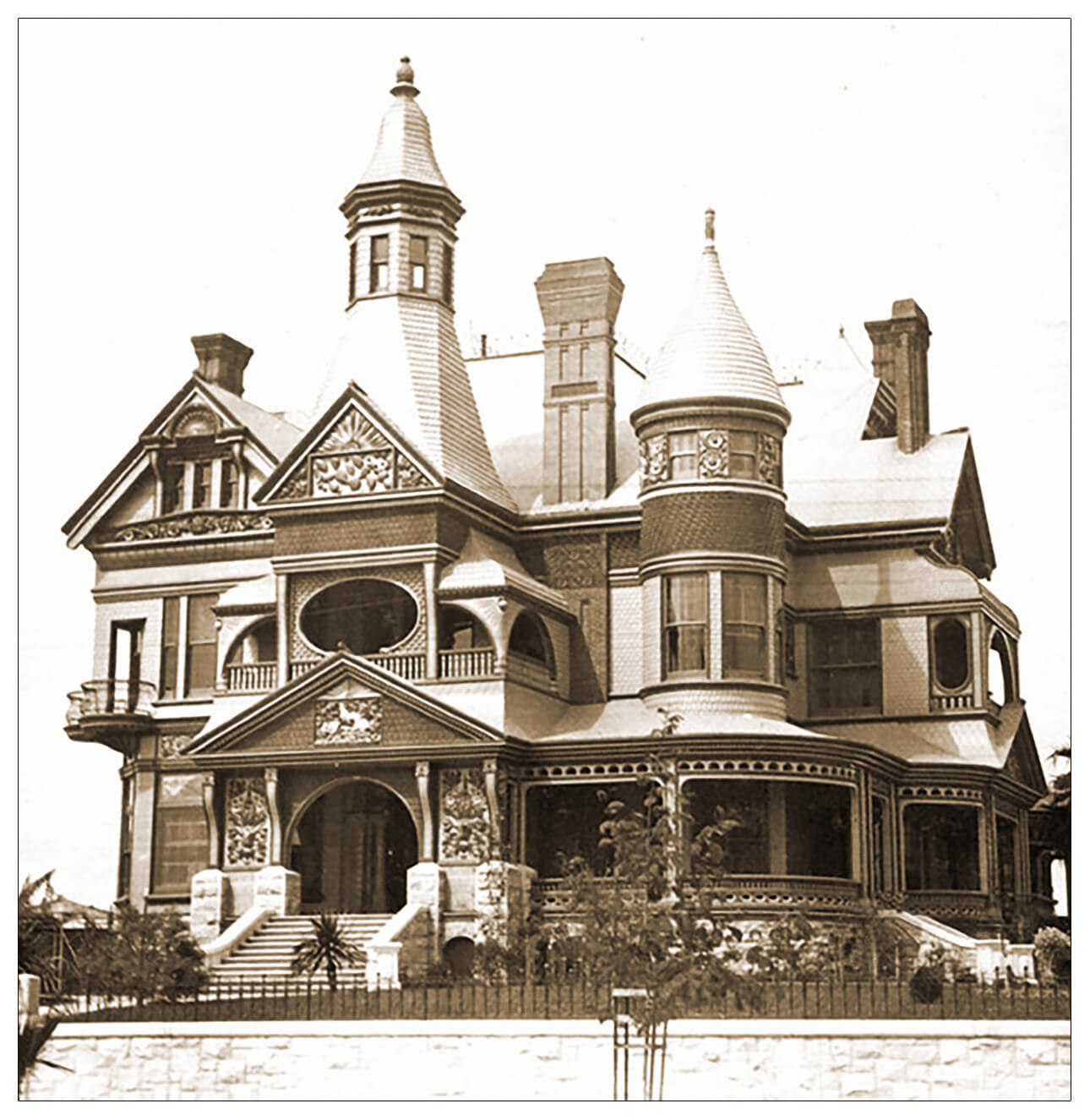 Bradbury Mansion ca late 1800s