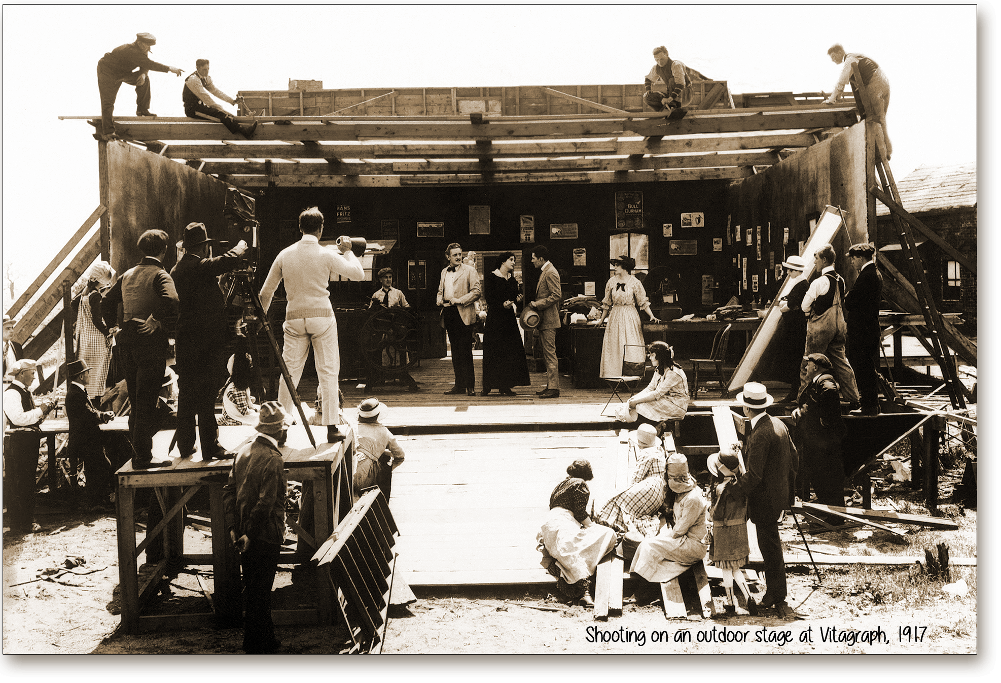 Vitagraph outdoor stage 1917b